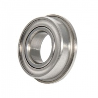 SMF74ZZ Flanged Stainless Steel Miniature Bearing 4x7x2.5 Shielded